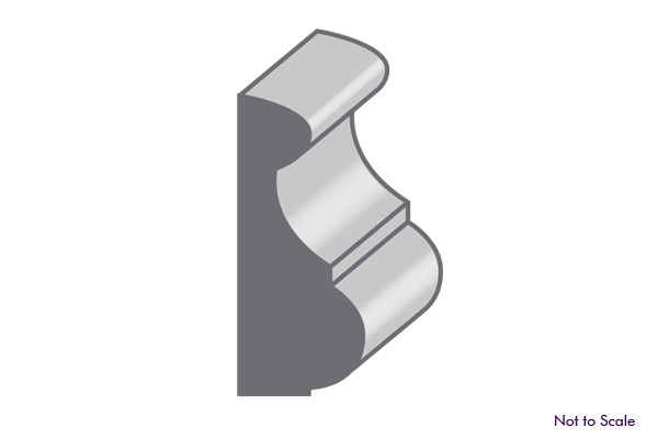 base cap or panel moulding