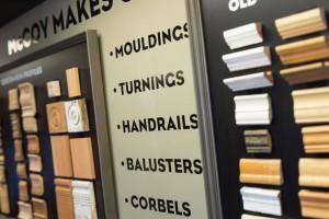 custom milling at McCoy Millwork