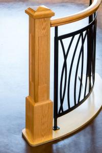 custom stairway parts at McCoy Millwork