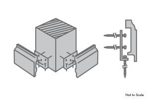 L-Bracket fastener kit