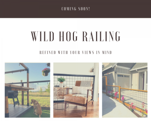wild hog railing available at mccoy millwork