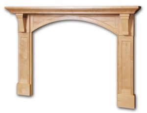 Caruthers mantel by McCoy Millwork