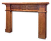 craftsman mantel by McCoy Millwork