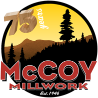 McCoy Millwork 75th Anniversary Logo