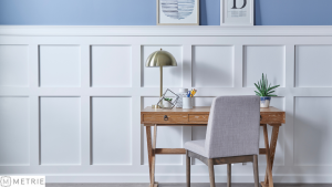 Wainscoting Design by Metrie available at McCoy Millwork