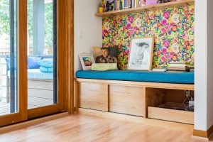 Bright Colors and Mid-Century Modern Detail