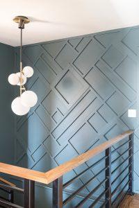 finish wall treatments geometric onlays