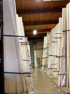 Finger Joint Lumber Racks-McCoy Millwork
