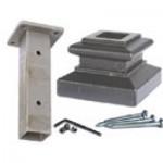 Mounting kit for iron newel