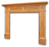 Overlook mantel by McCoy Millwork