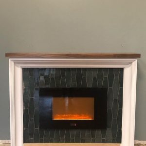 Richmond mantel by McCoy Millwork
