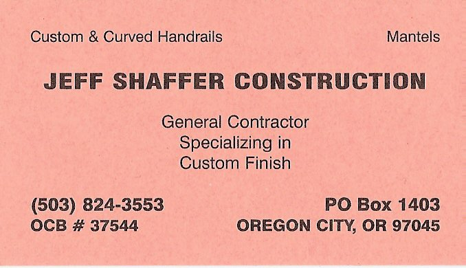 Jeff Shaffer Construction