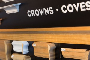 crown moulding, panel and cove moundling available at mccoy millwork in portland oregon