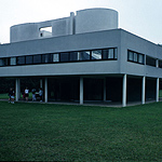 The Villa Savoye, Poissy, Paris